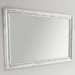 specchiera_maya 90x70 in foglia argento