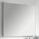 specchio linea 140x80 cm argento satinato tosca 121 eban