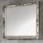 specchio luigi xv argento 92x72 cm tosca 122 eban