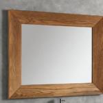 specchio violetta cm 97x80 in rovere naturale eban