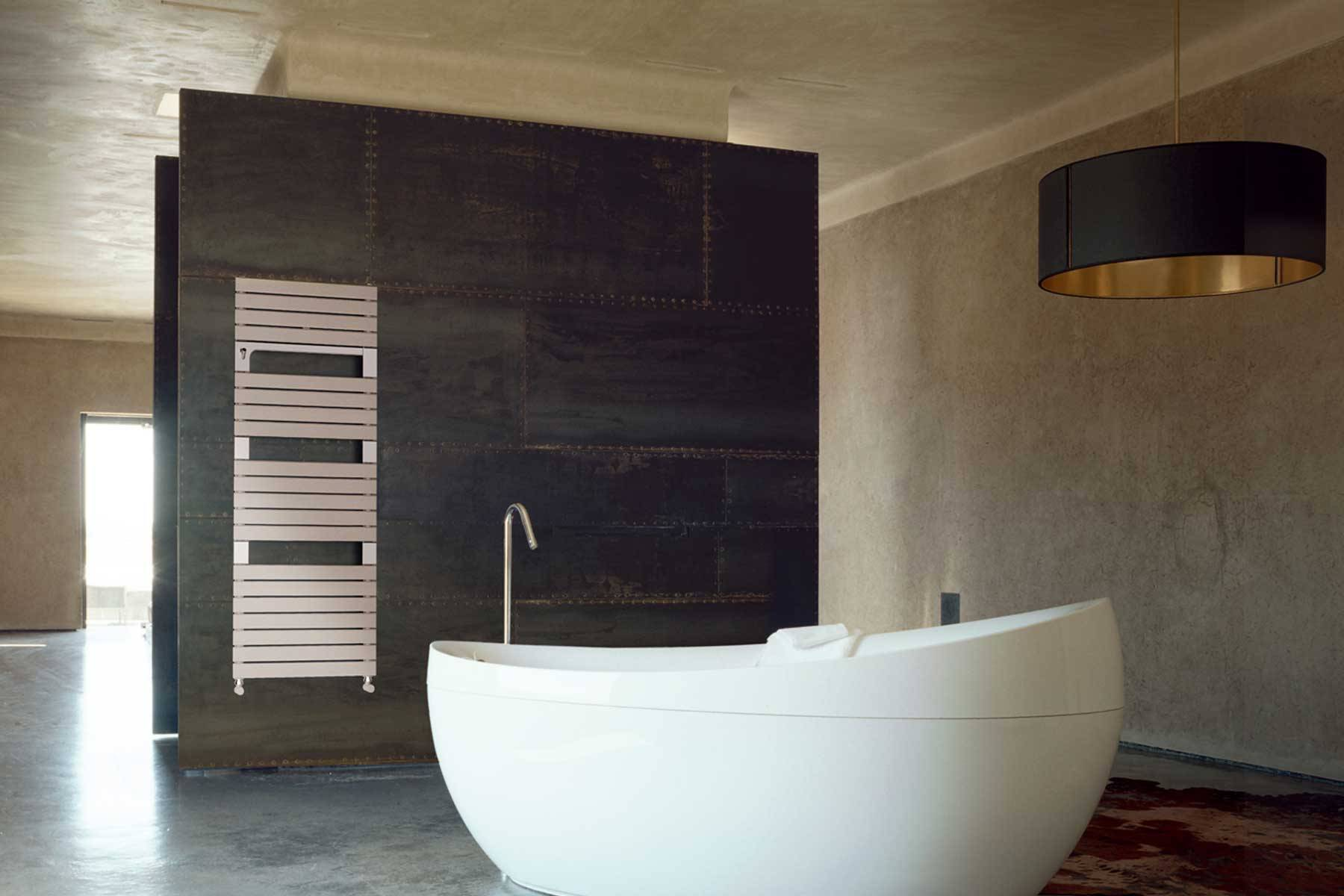 sèche-serviettes Torino-quartz-ambiance-salle de bain