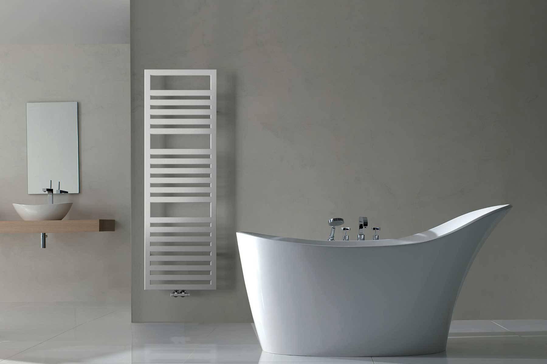 sèche-serviettes URBINO_blanc_ambiance_white-salle de bain