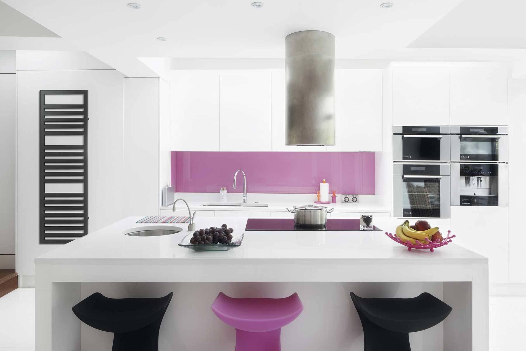 sèche-serviettes URBINO_anthracite_ambiance_kitchen
