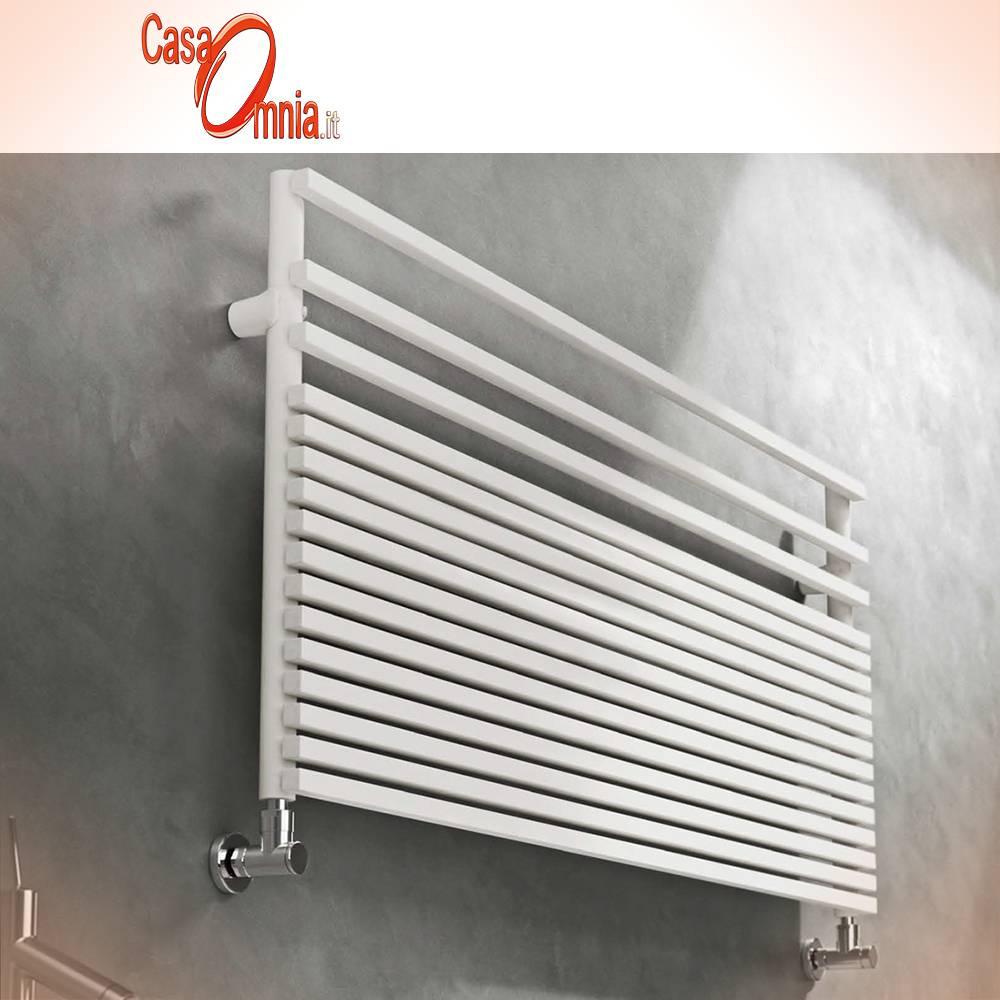 seche Serviette de bain Graziano-modèle infinity-blanc-