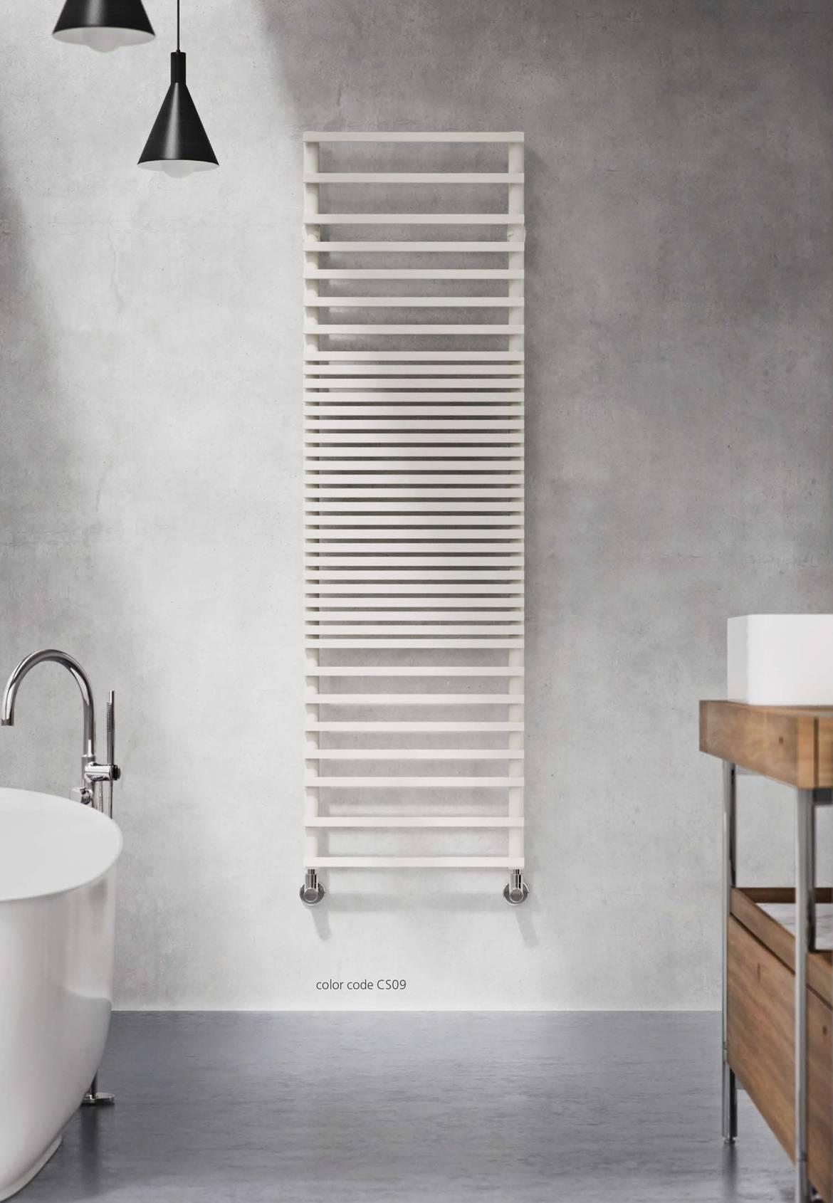 seche Serviette de bain Graziano-modèle infinity-Blanc
