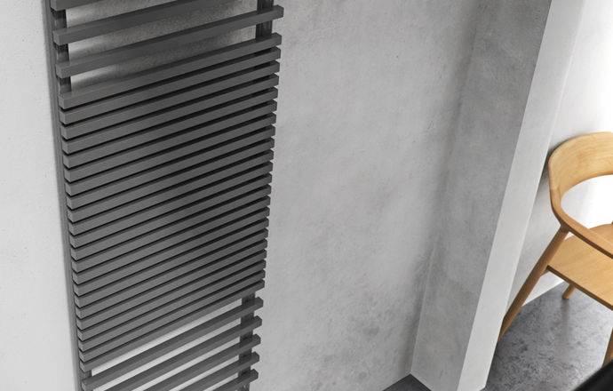 Porte-serviettes chauffant modèle Graziano infinity