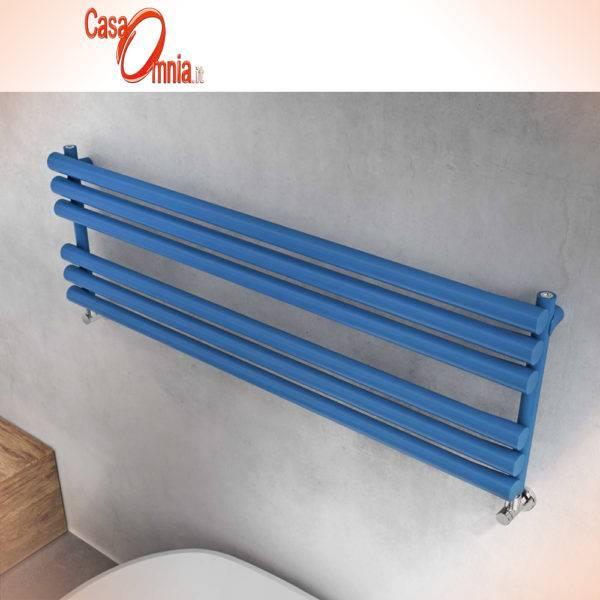Graziano-seche-serviettes-radiateurs osaka-horizontal-bleu-