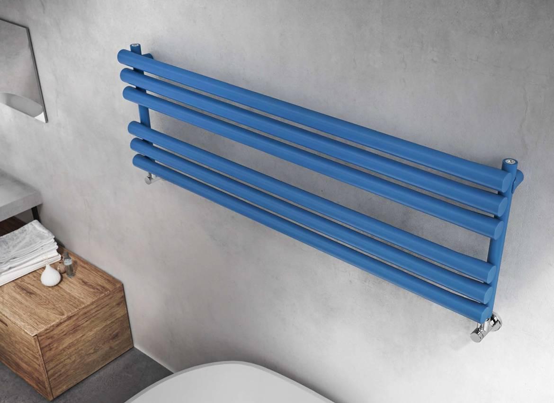 Graziano-seche-serviettes-radiateurs osaka-horizontal-blue