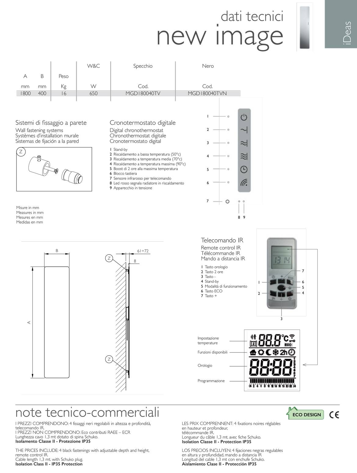 Technical Data living radiator-new-image-of-deltacalor