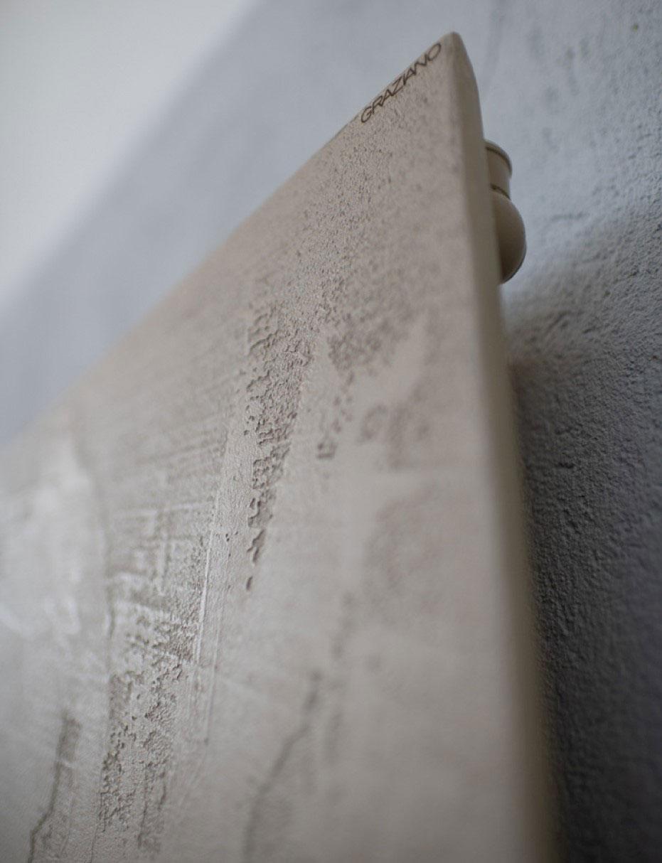 détail résine effet pierre Simos-Graziano