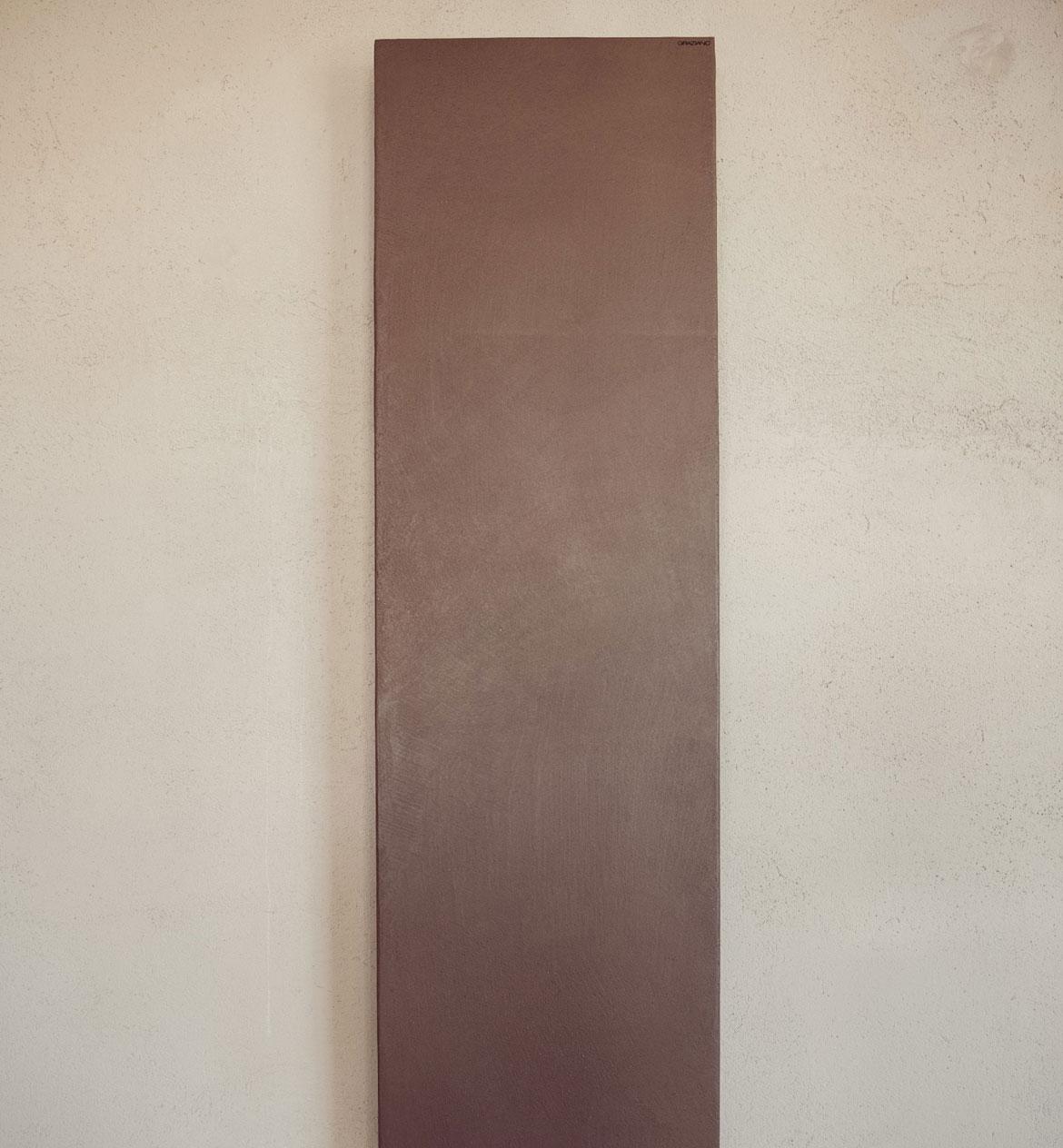 Radiateur-santorini-a-plaque de résine à effet de pierre graziano