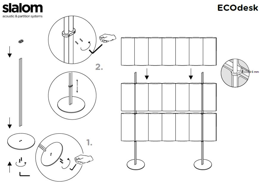 scheda_installazione_pannello_fonoassorbente_ecodesk_freestanding_slalom