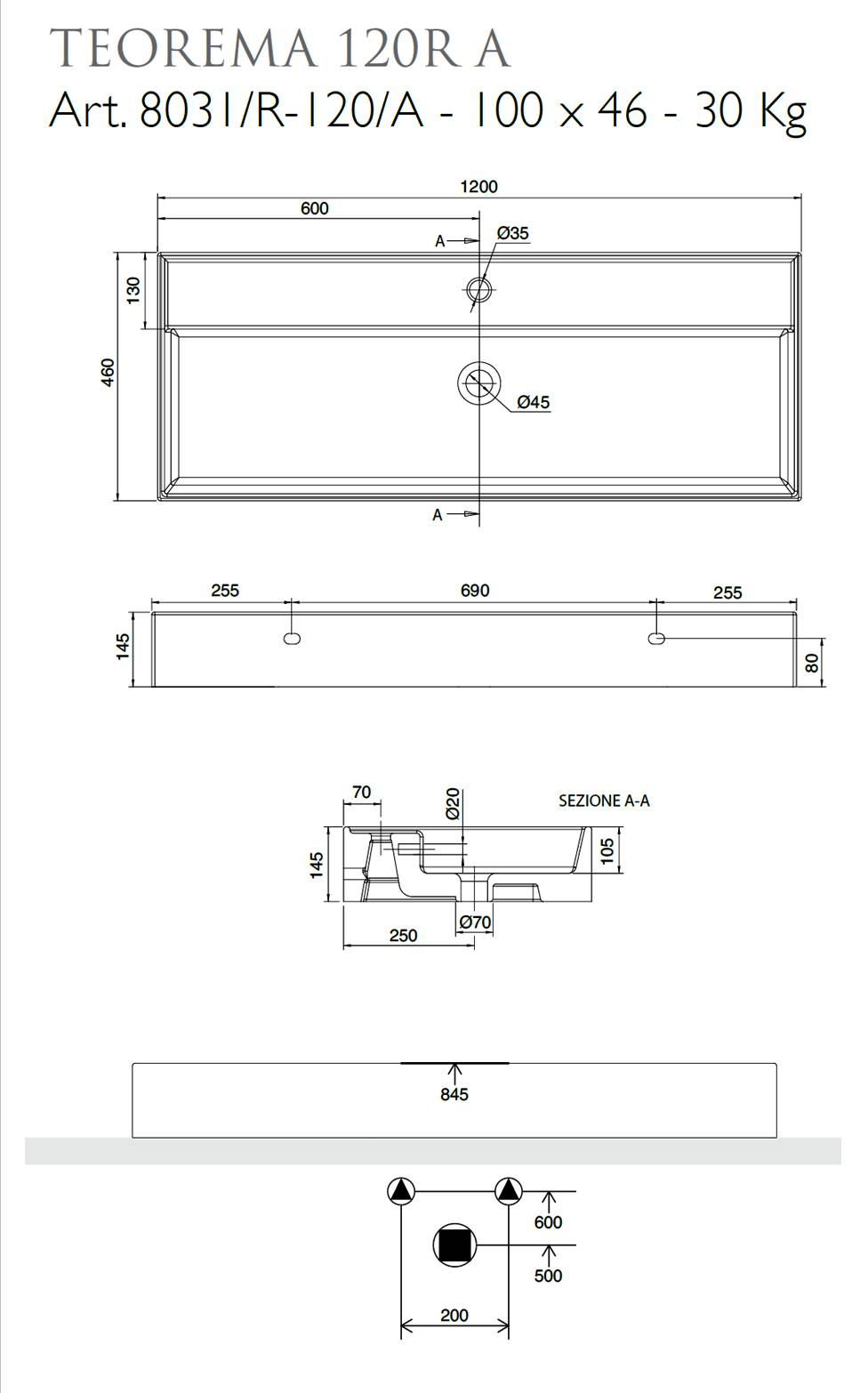 technical_sheet_surface_washbasin_or_wall_mounted_theorem_120r_scarabeo