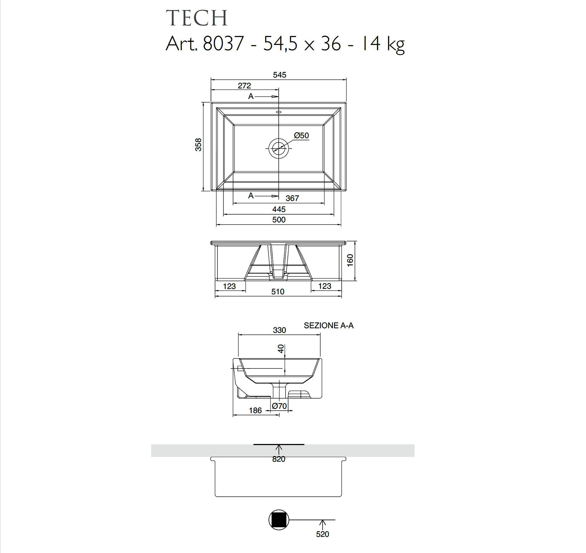 scheda_tecnica_lavabo_da_incasso_sottopiano_scarabeo_serie_Tech
