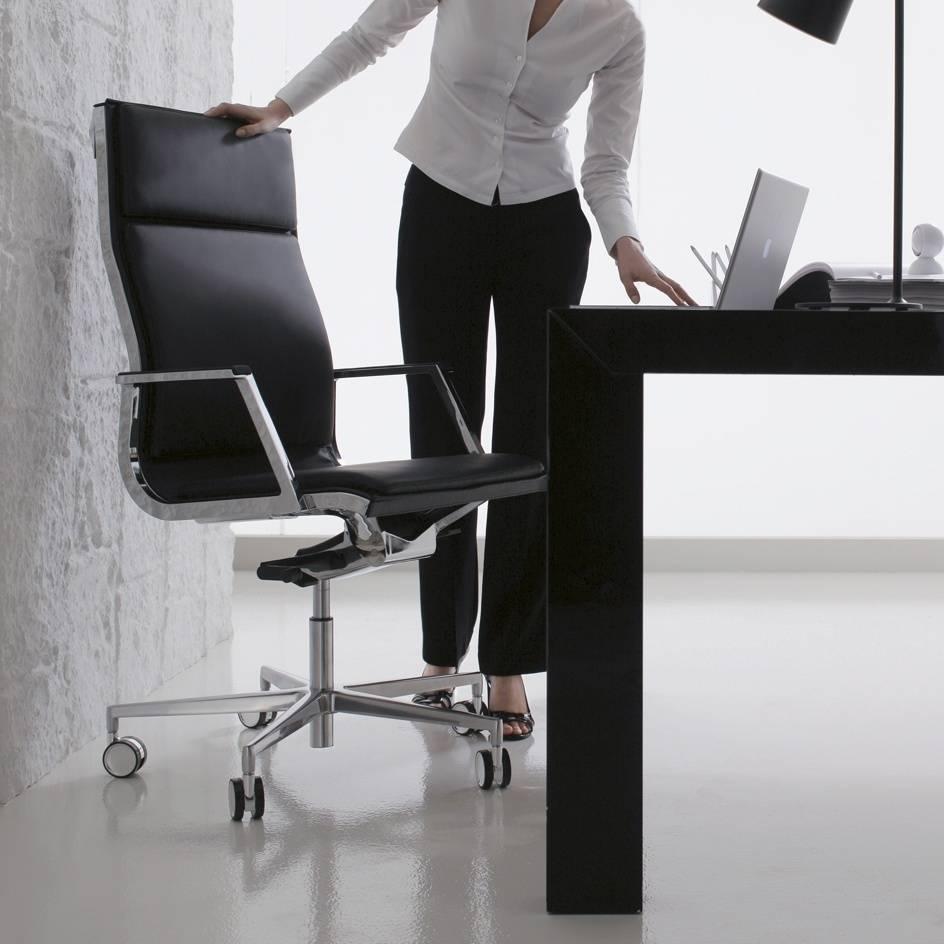 sedute_direzionali_luxy_serie_nulite_ergonomica_girevole_ufficio_schienale_alto_multiblock_braccioli_imbottita_pelle_nero