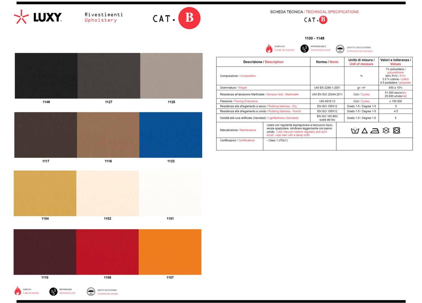 Table-couleur b-Luxy-éco-cuir officeomnia