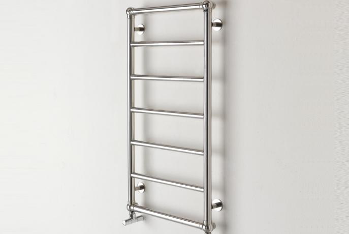 sèche-serviettes salle de bain classique steel retrò deltacalor