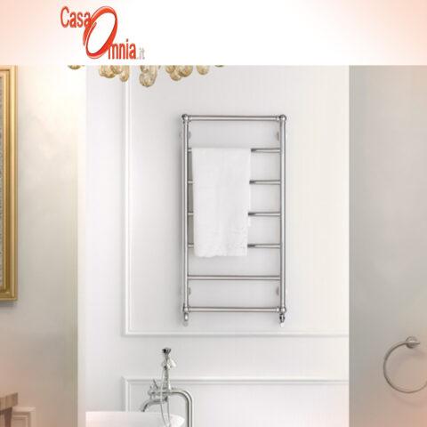 scaldasalviette-bagno-stile-classico-steel-retrò-deltacalor-inox-lucido