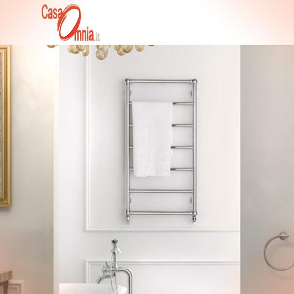sèche-serviettes-salle de bain-style-classique-steel-retrò-deltacalor-inox-poli