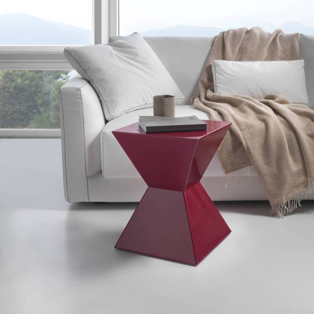 Tavolino capsula rosso siderio Lifestyle