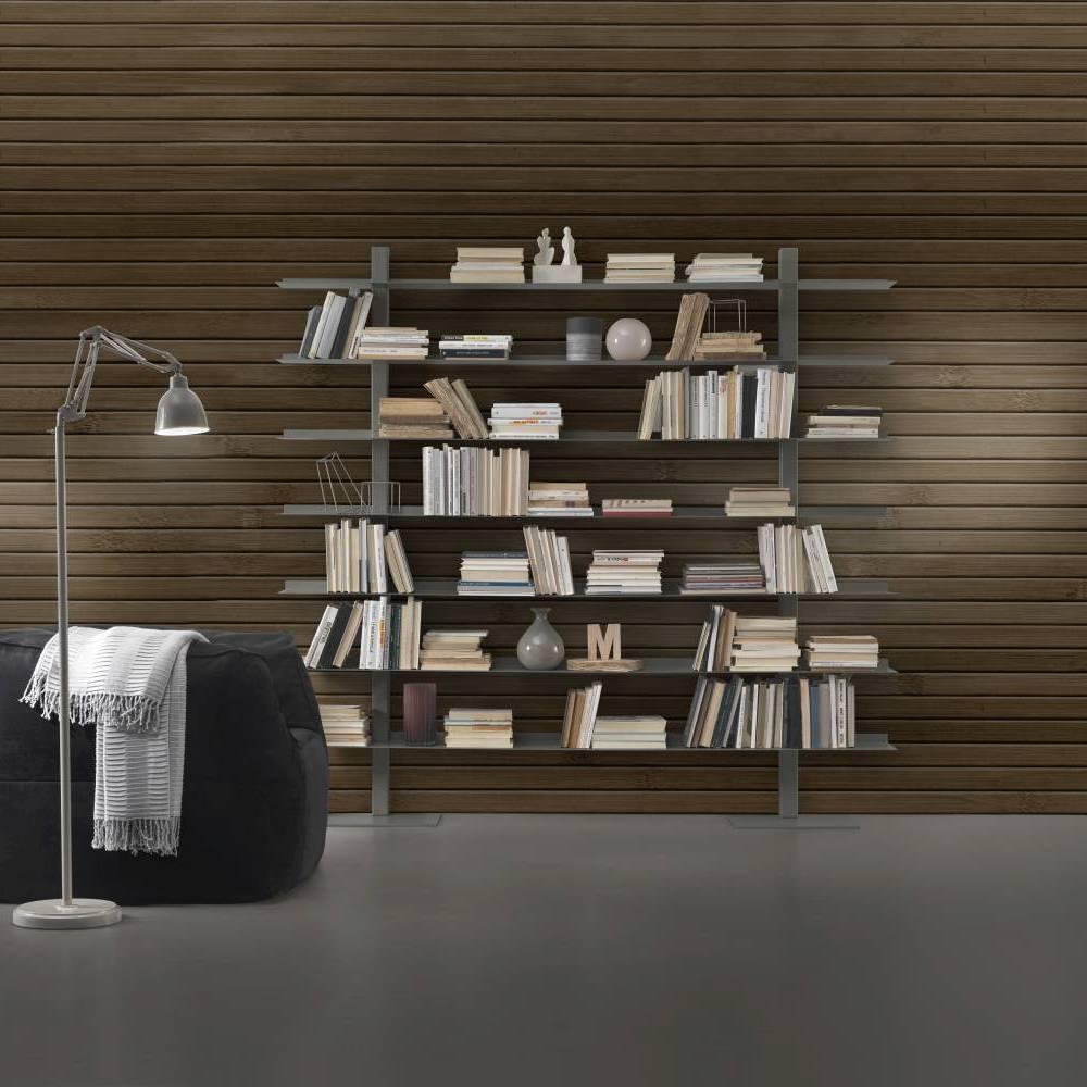 bibliothèque en acier zefiro II siderio SIDERIOSZ2FG