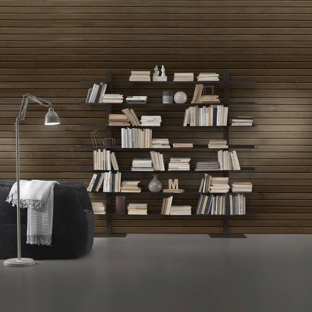 bibliothèque en acier zefiro II siderio SIDERIOSZ2RU