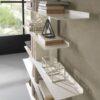 bibliothèque en acier apollo siderio Blanc3