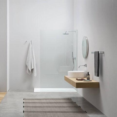 lavabo da appoggio ceramica bianco colorato nic design ovvio tondo