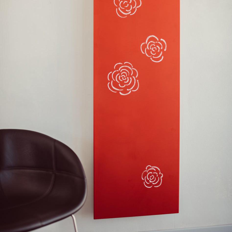 termoarredo a piastra verticale collezione design graziano radiators daisy