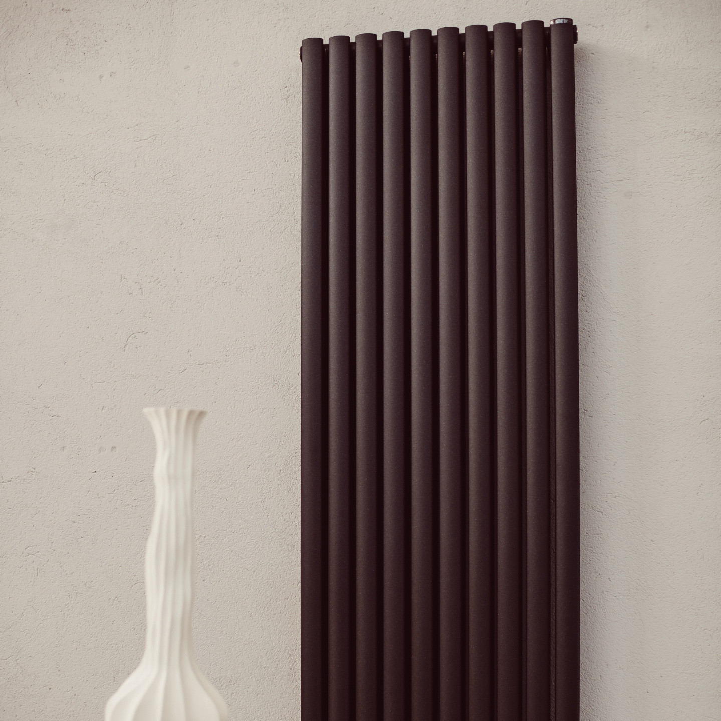 radiateur vertical blanc coloré apside d graziano radiators