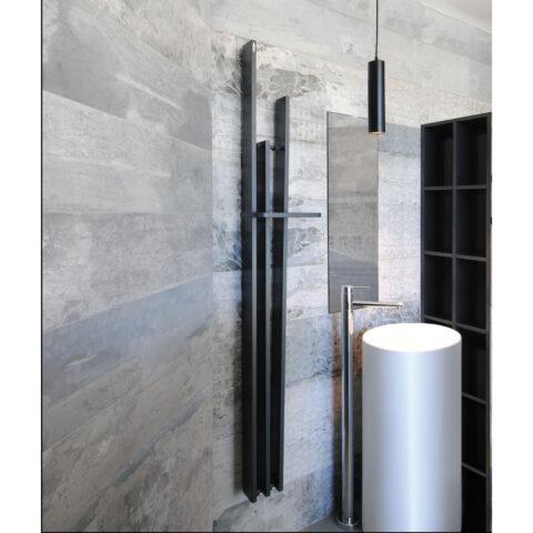 sèche serviettes salle de bain blanc coloré brem lame slim