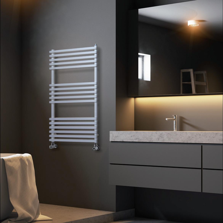 sèche-serviettes salle de bain blanc coloré brem plank