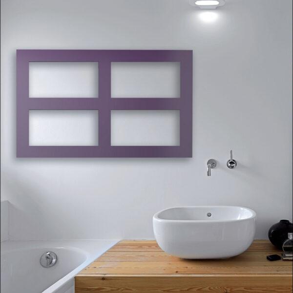 sèche-serviettes salle de bain blanc coloré essen brem