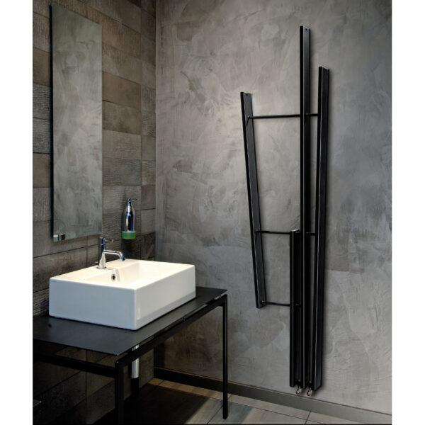 sèche-serviettes salle de bain blanc coloré lamath brem