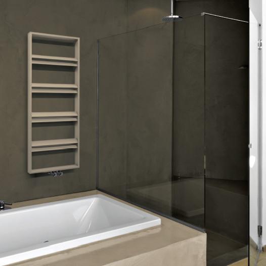 heated towel rail white colored brem alis