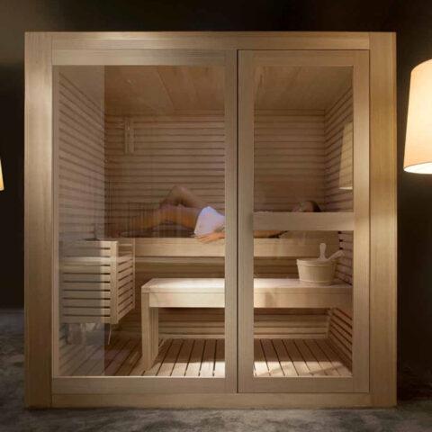 sauna comando digitale treesse kayu