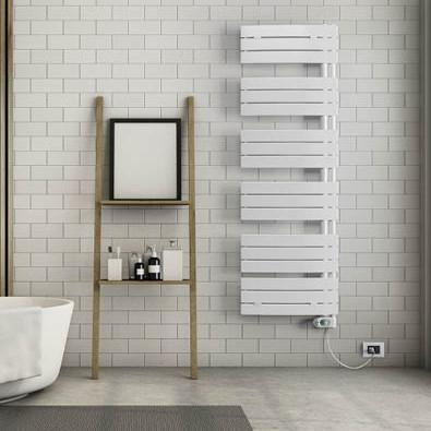 sèche-serviettes salle de bain électrique blanc lazzarini pieve