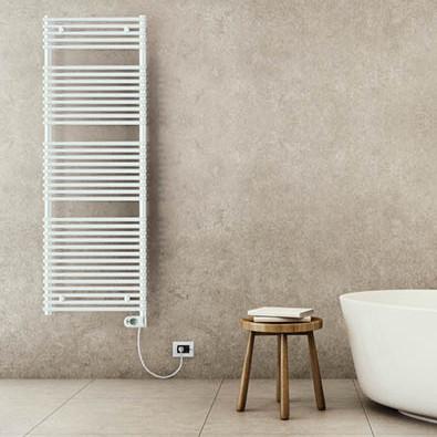 sèche serviettes électrique salle de bain blanc lazzarini catania