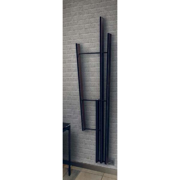 electric heated towel rail white colored lamath brem