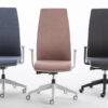 sedia da ufficio biacca colorata regolabile smart office luxy