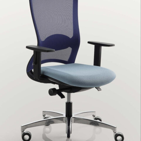 office chair colored white luxy pop