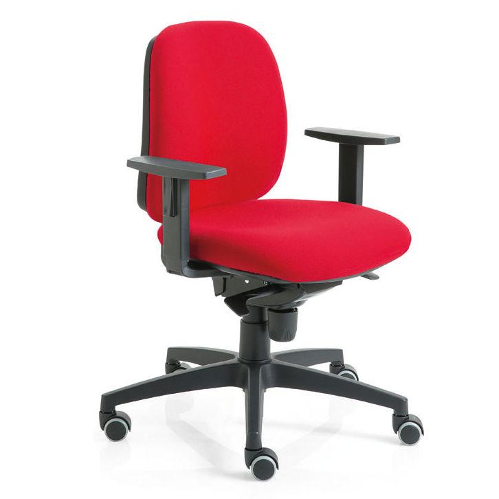 sedia da ufficio colorata imbottita luxy post