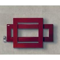 radiateur électrique cross q avec des carrés qui se chevauchent brem