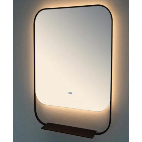 badezimmer spiegel mit regal vanità e casa pollux