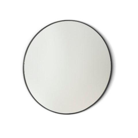 miroir de salle de bain cadre noir vanità e casa gamma round