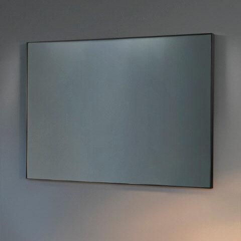 miroir de salle de bain cadre noir vantià e casa beta