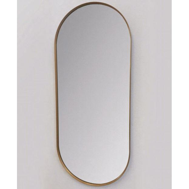 badezimmer spiegel bunter Rahmen vanità e casa perseo oval