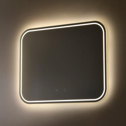 miroir de salle de bain illuminé led vanità e casa moonshine