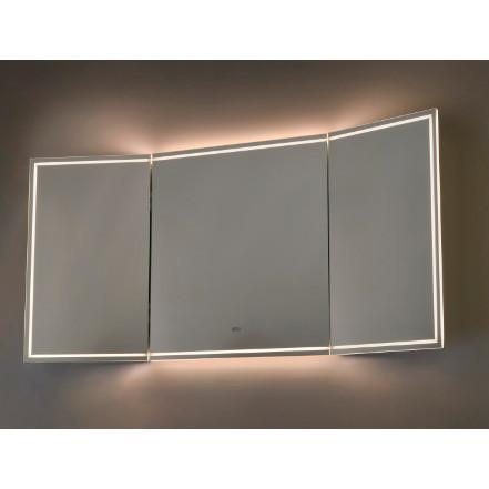 miroir de salle de bain illuminé led vanità e casa titan