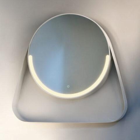 miroir de salle de bain rétroéclairé led vanità e casa smile